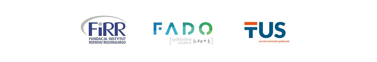 Logotypy FiRR, FADO iTUS